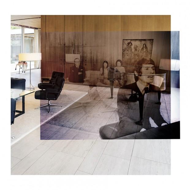 KB, Nr. 12, 1969/2016, ©Collage - picture alliance / Johannes Gewiess, Mixed Media/Aludibond,106 x 106, 110 x 110 cm, Ed. 4
