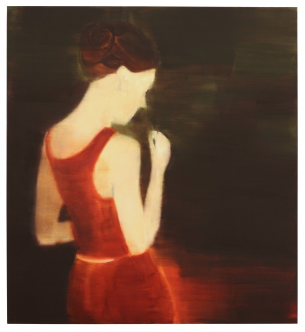 Barbara Petzold, o.T., 2009, 135x125 cm, Öl auf Leinen