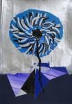 C.Hoffmann Sternblume 2. 2011. 30 x 40 cm Mischtechnik auf Papier