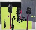 Claudia Hoffmann, Arum 1, 2008, Collage, 112 x 132 cm