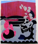 Claudia Hoffmann, Kleeulme - KU 10, 2008, Collage, 140 x 121 cm