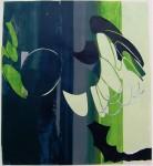 Claudia Hoffmann, Kleeulme - KU 11, 2008, Collage, 115 x 106 cm