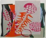Claudia Hoffmann, Wolfsmilch - WM 1, 2008, Collage, 125 x 148 cm