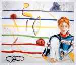 Cony Theis, Jennifer 11, 1995, 85 x 100 cm Öl Eitempera