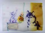 Cony-Theis-Paseos-2008-chin.-Tusche-Öl-Transparentpapier-297-x-42-cm-8