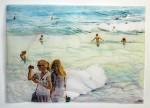 Cony-Theis-Strandleben-Gustave-2008-Chin.-Tusche-Oel-Transparentpapier-90-x-125-cm
