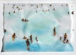 Cony Theis, Strandleben, Watching Richard IV, 2008, Chin. Tusche, Oel, Transparentpapier, 40 x 59,4 cm