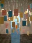 Cony Theis, Zeitrichten, Zitate, 2003, Karteikarten, Installation