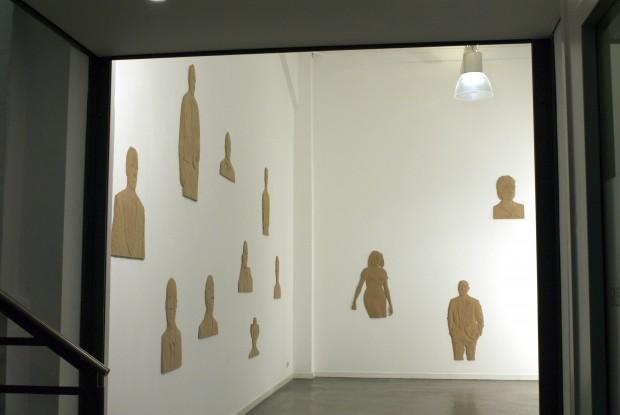 M.Schneider, Obamas people, Galerieansicht 2009