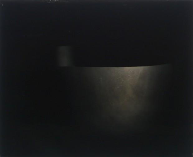 Norbert Frensch, o.T. 2009, 40x50 cm, Öl auf Nessel