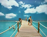 R. Riedler. Horizon 01.Tropical Islands, Germany 2007.Fake Holidays, C-Print, 100x100cm und 65 x 80 cm, je Ed.5+2AP