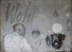 Ransome Stanley, Cinema, 2009, Öl auf Leinwand, 110 x 150 cm