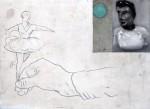 Ransome Stanley, Dance, 2011, Mischtechnik auf Papier, 56 x 76cm