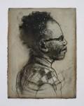Ransome Stanley, o.T., 2012, Monotypie, 54 x 42 cm (gerahmt), 26 x 21 cm