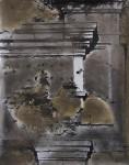 Stefan Kiess, mnemata I, 2017, analoge Fotoarbeit, Graphit, Acryl, 50 x 40 cm