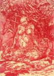 Ereignisse im Schatten, 2009, Tintenaquarell, 21,1 x 29,1 cm