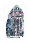 Jacqueline Taїb, Mes Tours du Monde, Sans titre 1, Acryl auf Papier,2012, 70 x 50cm