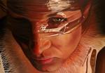 "Amina Broggi, ""the invisible"", 2013, 140 x 200cm, Acryl auf Leinwand"