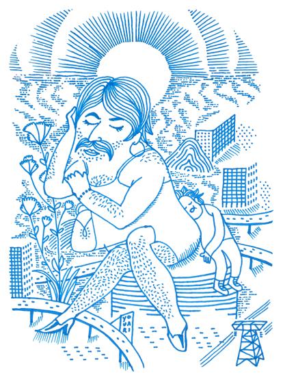 Julien Roux, Mam Moustache, Série