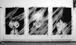Valentin Van Der Meulen, untitled, 2013, Kohle, schwarzer Stein, Radiergummi auf Papier, je 90 x 145 cm