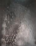 Cris Pink, Sorir du vide,145 x 115 cm, Öl auf Leinwand