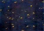 Miguel Rothschild, Himmlisch, 2003, Malerei, Collage, 140 x 190 cm