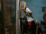 Mohamed Camara, Chambres maliennes 07, 2002, Pigmenttintendruck, 27,5x36,5 cm