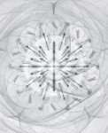 Murayama Macoto, Rose- iv-w,2008-2010, digital Print, Acryl, 56 x 45,7 cm