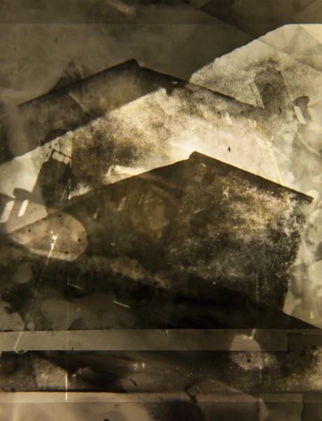 Stefan Kiess - o.T., 2014. Inkjet Prints aus collagiertem, analogem Fotomaterial auf Hahnemühle Albrecht Dürer Papier, 25x34 cm, Ed. 5