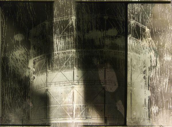 Stefan Kiess - o.T., 2014. Inkjet Prints aus collagiertem, analogem Fotomaterial auf Hahnemühle Albrecht Dürer Papier, 114x110 cm, Ed. 5