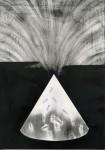 Kyung-hwa Choi-ahoi, Krater I, 21 x 30 cm, Bleistift, Öl auf Papier, 2013