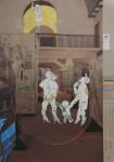Blablamann und seine Bewunderer, 2014, Inkjet Druck auf Recycling Papier, Zeichnung, Collage, 70 x 50 cm