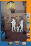Blablamann und seine Bewunderer, 2014, Mixed-Media auf PVC Plane, 200 X 136,7cm, 2/5