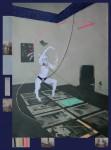 Laufbilder, 2014, Mixed-Media auf PVC Plane, 236,5 X 175,9cm, 1/5