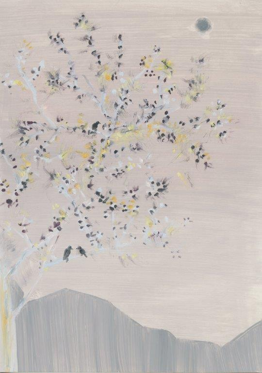 Kyung-hwa Choi-ahoi, Vierjahreszeiten (Frühling), 2013, Buntstift, 37x27cm