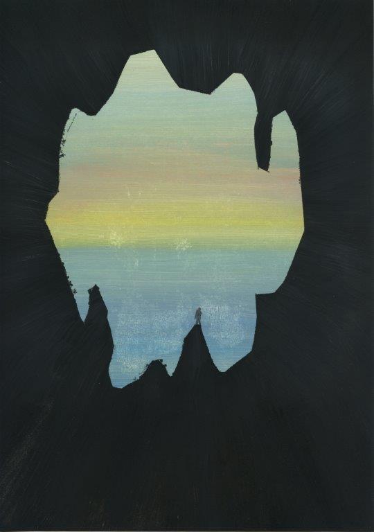 Kyung-hwa Choi-ahoi, Vierjahreszeiten (Herbst), 2013, Buntstift, 37x27cm