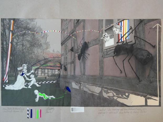 Enfants Terribles, Der Frühling und seine Nebenwirkungen, 2014, Ed.5, Collage, 236,5x297cm