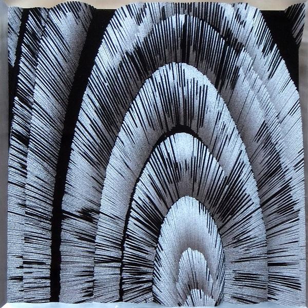 Cousteau Tazuke, 11.5.2014, Acrylharz, Alkyd, Aluminium, 33x33x2cm