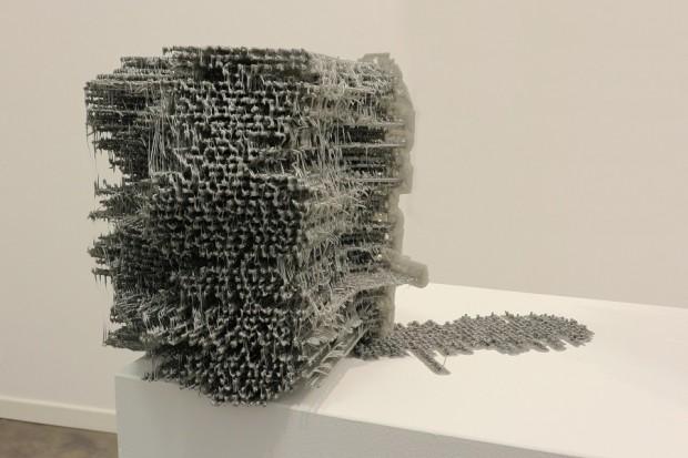 Fabian Hesse, NSA, 2014, PLA, Unikat, 20x35x20cm