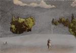 Thomas Kälberloh, Kleine Idylle 24, 2014, 103 x 146 mm