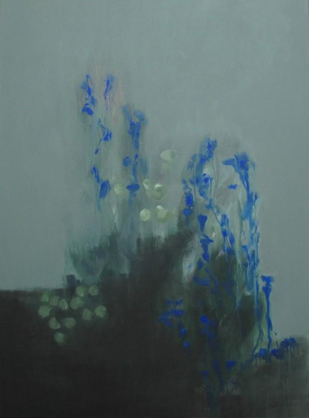 Thomas Kälberloh, o.T., 2014, Acryl auf Leinwand, 130x90cm