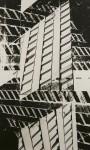Stefan Kiess, o. T., 2011, analoge Fotoarbeit, Silbergelatine Print, 8-teilig, Unikat, 193 x 121 cm