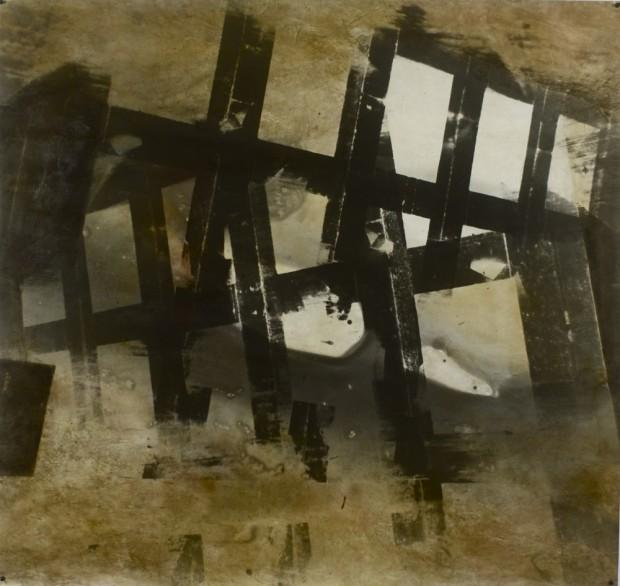 Stefan Kiess, o. T., 2014, analoge Fotoarbeit, Silbergelatine-Print, Acrylemulsion, Pigmente, Unikat, 120 x 127cm