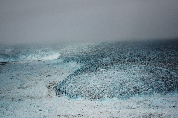 Stefan Hunstein, Ice 44, 2014, UV-Direct-Print auf Glas, 112 x 152 cm, Ed.5