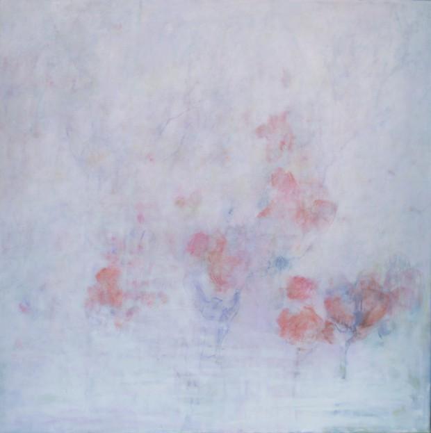 Cris Pink, Rocio de manana, 2015, 60 x 60 cm