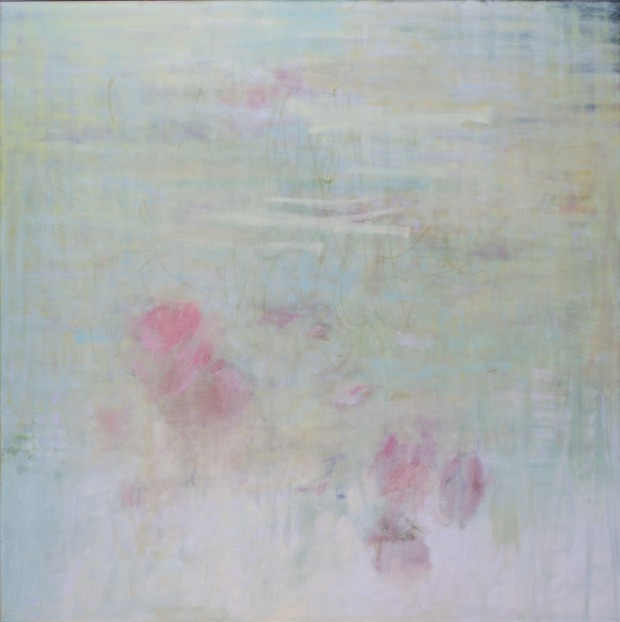 Cris Pink, Hermosa Flor, 2015,  60 x 60 cm