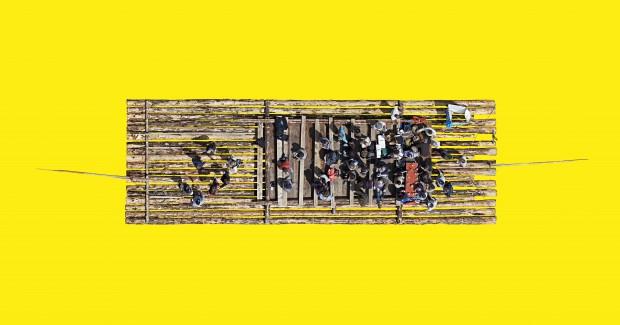 Dirk Brömmel, Floss 2, 2016, B 1/5, 150 x 79 cm, Diasec Aludibond