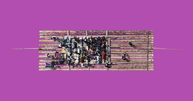 Dirk Brömmel, Floss 3, 2016, B 1/5, 150 x 79 cm, Diasec Aludibond