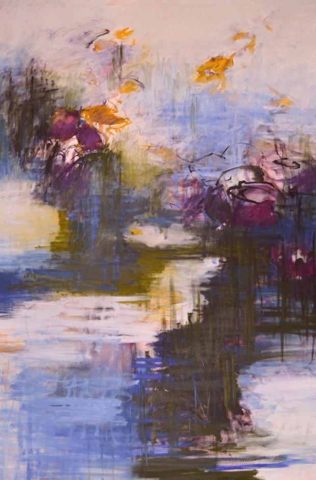 Cris Pink, Guardiano del sueno, 2012 / 2016, Öl auf Leinwand, 195 x 130 cm
