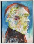 Junger Faun, 1990 (2011 überarbeitet), Acryl auf Leinwand, 82 x 60 cm